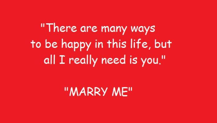 Want To Propose Your Girl For Marriage Try These Beautiful Lines