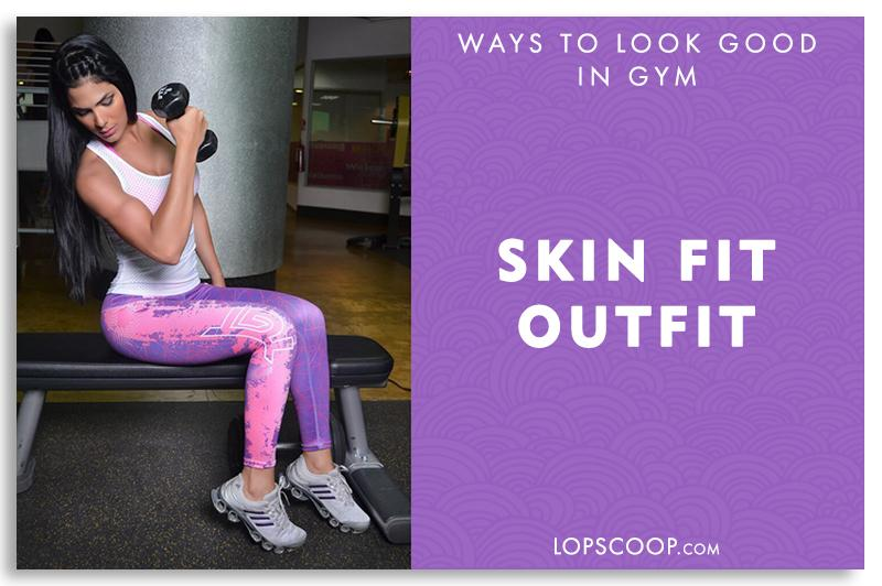 1b4d8991bfbc If you want to look hot and sexy while working out then skin fit outfit is  the best option which will help you do the exercises comfortably.