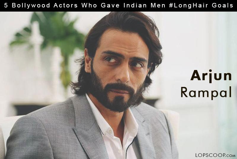 One Of The Coolest Bollywood Actors In Industry Arjun Rampal Nails Long Hair Look Style Dark Horse Has Carried Off Locks Few