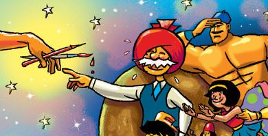 Indian Comic 'Chacha Chaudhary' To Be Recreated As Animated